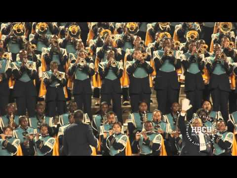 Dangerously In Love - Southern University Marching Band (2013) - HBCU Bands