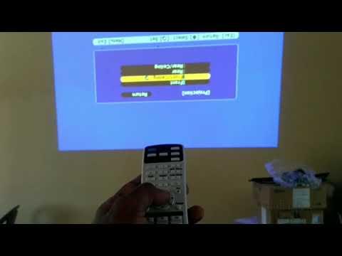 Epson projector screen rotation