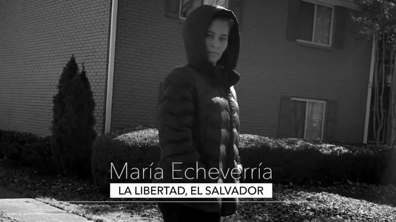 Desplazamiento forzado por violencia (Caso María, La Libertad, El Salvador)