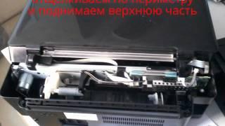 как почистить памперс на принтере Epson
