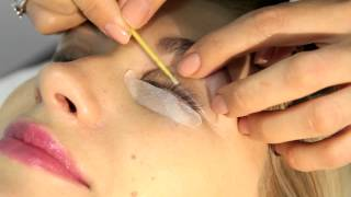 видео креативное ламинирование ресниц