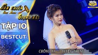 CHỒNG XA - Tuyết Nhung | Tiết mục xúc động của con gái Phi Nhung | Sàn chiến giọng hát tập 10