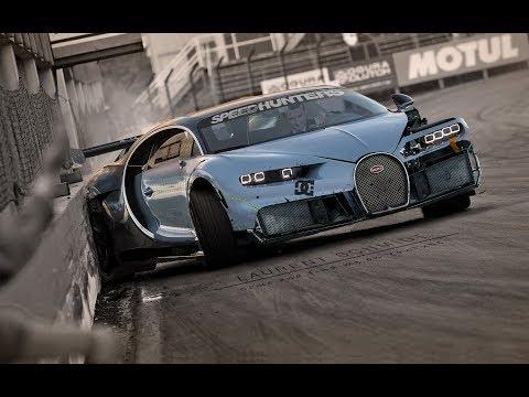 Bugatti Chiron drift missile !!