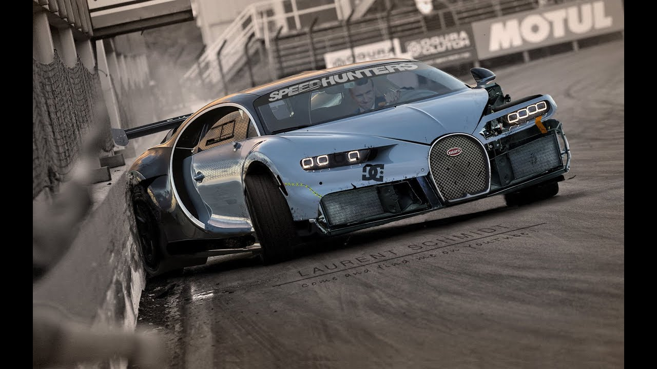 Bugatti Chiron Drift Missile YouTube