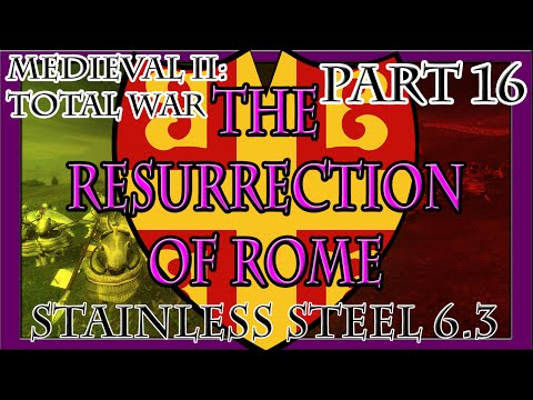 Medieval II | The Resurrection of Rome: Part 16 (Assault on Tunis)