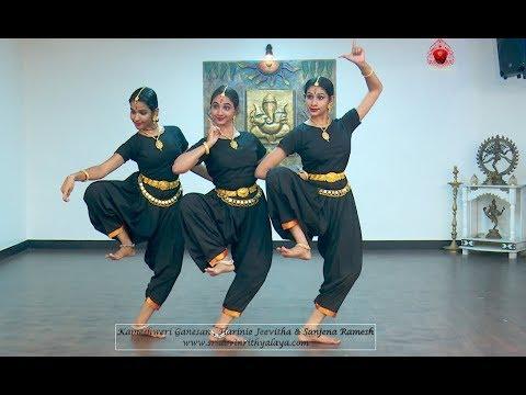 """Sri Shankar Mahadevan's Ganesa Sthuthi  """"Gana Nayakaya"""" - Sridevi Nrithyalaya - Bharathanatyam Dance"""