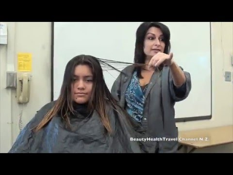 V-Cut: Haircutting Class: with Layers (Beginner)