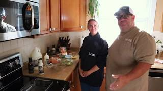 Cooking with Big Rich - Episode 11: White Garlic Vegetable Lasagna