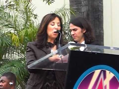 Olivia Harrison Speech at George Harrison Hollywood Walk Of Fame Ceremony