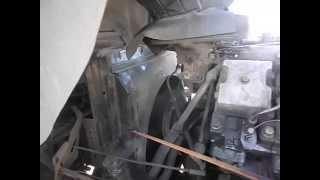 Как снять радиатор на автомобиле Камаз