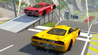 High Speed Jumps&Crashes #19 - BeamNG DRIVE