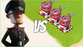 Boom Beach 3 MAX SIMOs vs Defending Hammerman!
