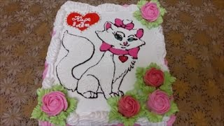 видео торт на день рождения детский