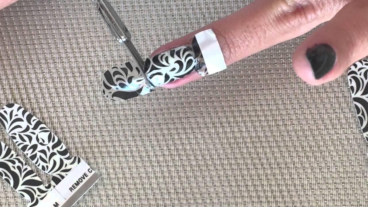 Como Poner Sticker Uñas Kiko Adhesivos Para Uñas