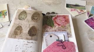 decorated midori travelers notebook insert