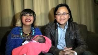 Lahiran Anak Ketiga Pinkan Mambo Ditemani Suami Barunya