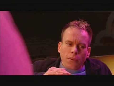 Neil Fingleton 7'7 acting with Warwick Davis willow