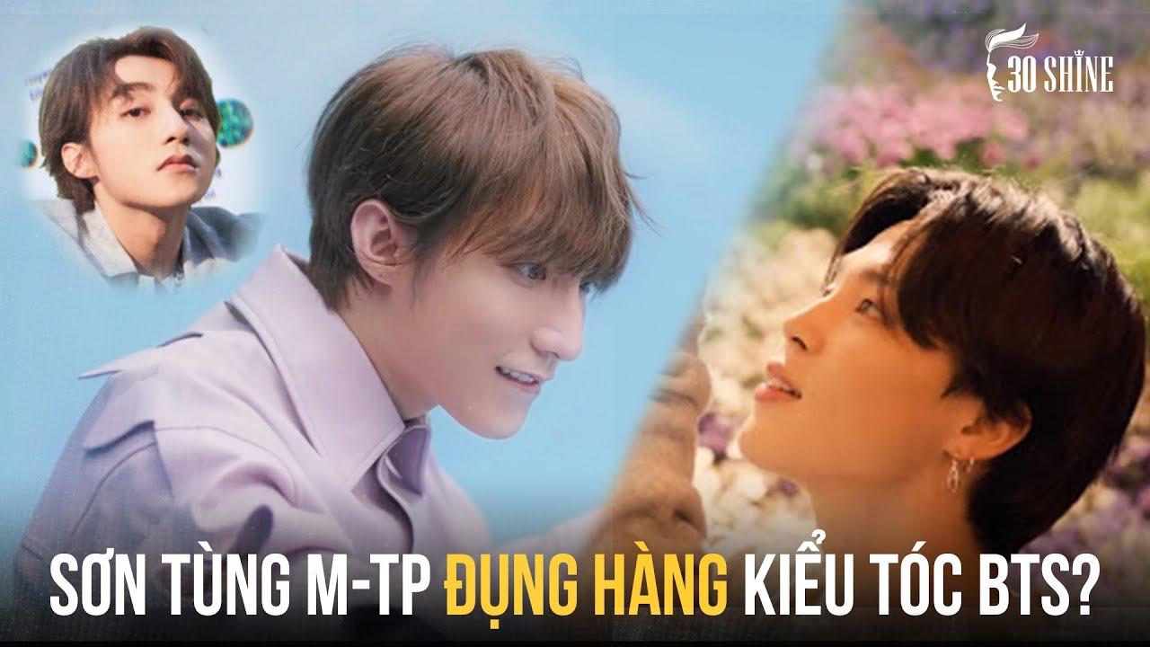 """""""CÓ CHẮC YÊU LÀ ĐÂY"""" – Soi 3 Kiểu Tóc Sơn Tùng M-TP Có """"Đụng Hàng"""" BTS?"""