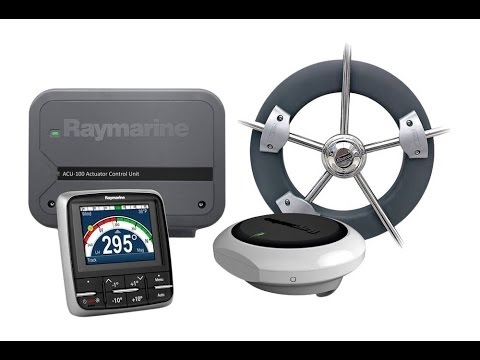 Image result for raymarine ev-100 wheel evolution autopilot