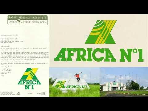 Radio Africa N.1 9700 kHz - Moyabi (Gabon) - Sign On in French/English - 1980