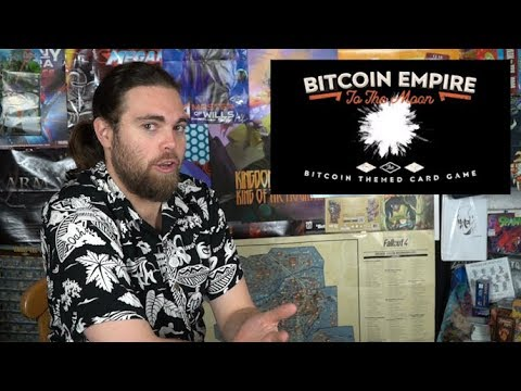 Bitcoin Empire : To the Moon - Card Game Review