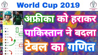 World Cup 2019 - Points Table Prediction After Pakistan Beat Southafrica   MY Cricket Production