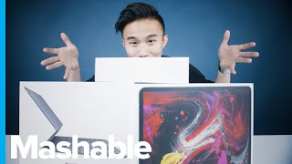 ASMR Unboxing the iPad Pro, Apple Pencil, and Smart Keyboard Folio — ASMR Unboxing