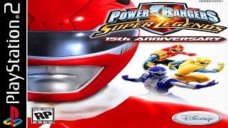 Power Rangers: Super Legends - Full Game Walkthrough / Longplay (HD, 60fps)