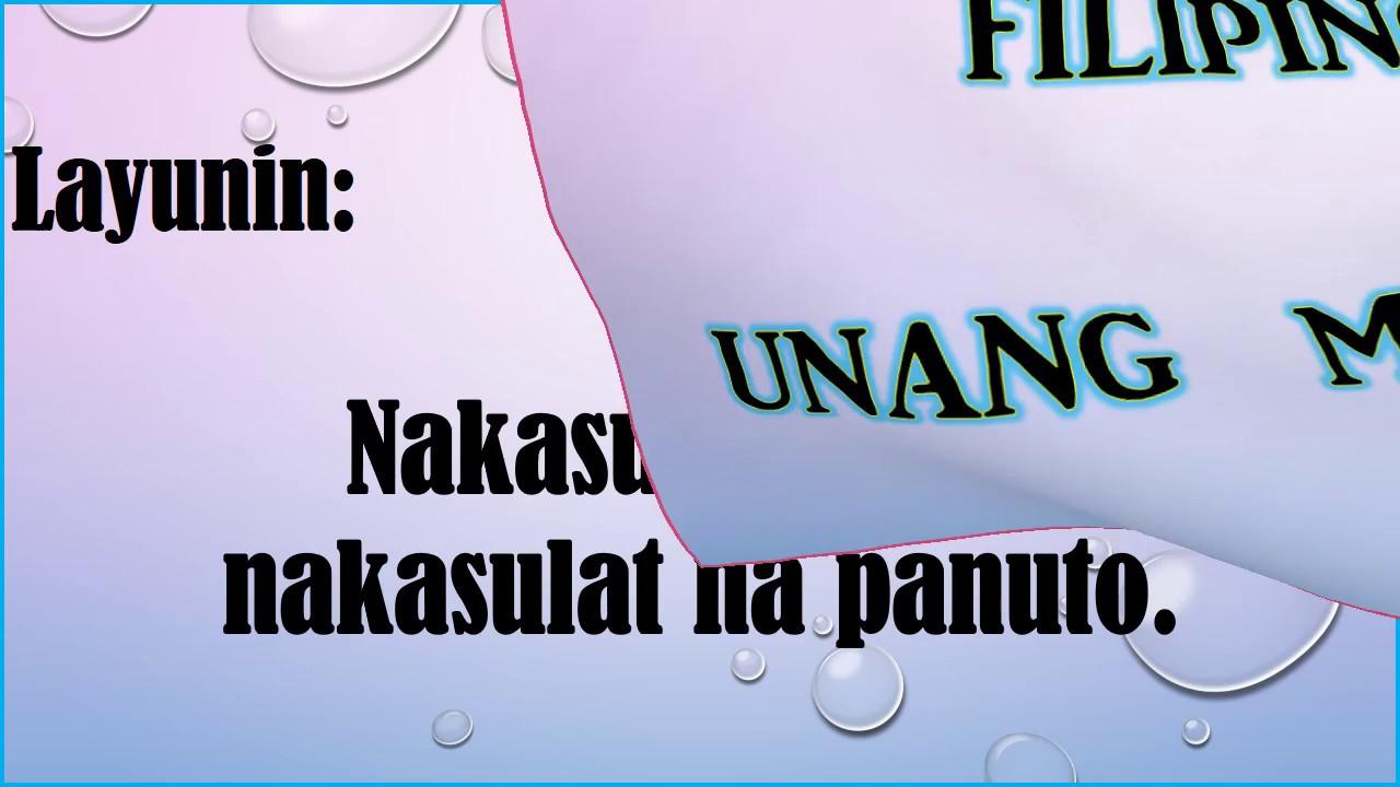Fil 3 Q1 Aral 3 6 28 17 Pagsunod Sa Panuto Pptx