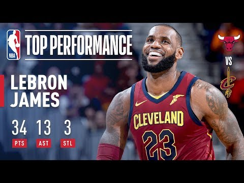 LeBron James FULL Highlights From Cavaliers Win Over Bulls | 30 Points, 12 Assists