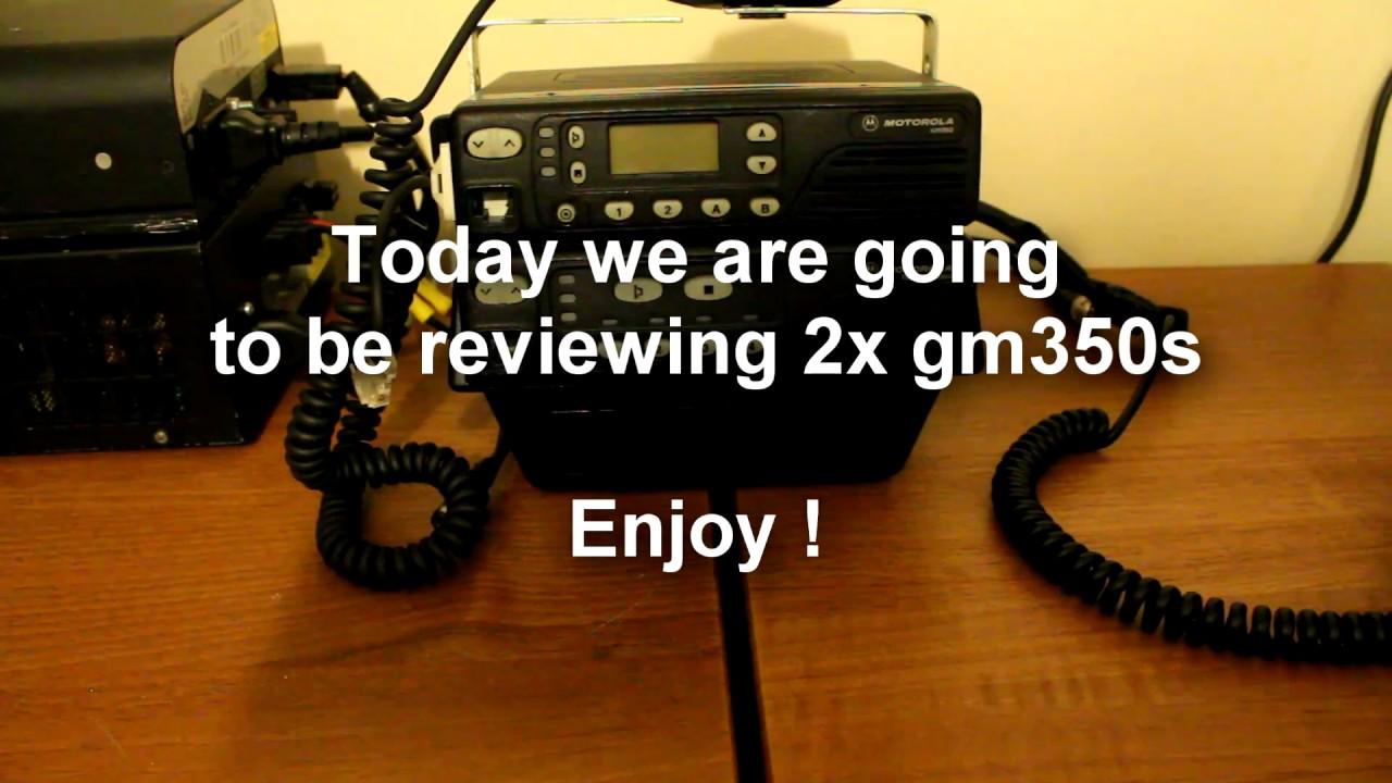 Motorola gm350 review