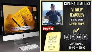 Real Gold отзыв клиента Виталий Ильягуев Израиль