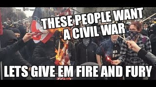 The Left Want a Civil War