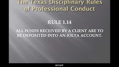 2. The Texas Disciplianry Rules of Professional Conduct