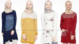 Modanisa 2017 - 2018 Sonbahar Kış Tunik Modelleri 1-3