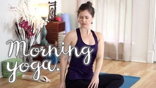 Video Morning Yoga - 30 Minute Energizing Sequence for Beginners download MP3, 3GP, MP4, WEBM, AVI, FLV Maret 2018