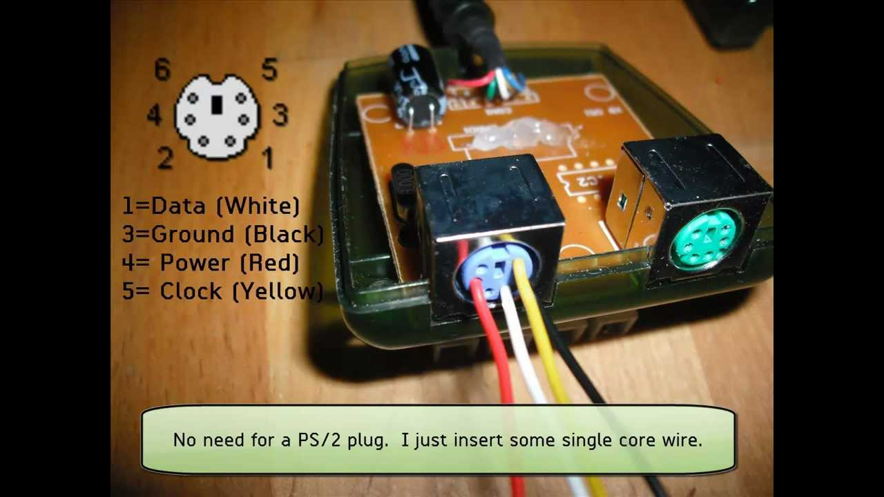 Analog Joystick Wiring Diagram Diy Arcade Interface Xbox Gamepad Encoder Youtube