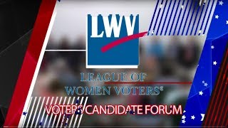 League Of Women Voters Candidates Forum: 14th Middlesex District of the MA State Legislature 7/23/18