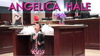 Amazing 6 Year Old Little Girl Who Sings National Anthem - Angelica Hale