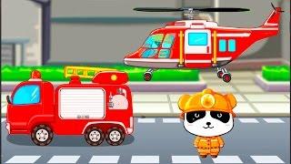 Развивающие мультики для детей от 3 лет. Пожарный Панда и его важная работа.(Мультфильм про пожарные машины! Сегодня мы познакомимся с пожарным Пандой, и он расскажет нам много всего..., 2015-08-18T12:56:56.000Z)