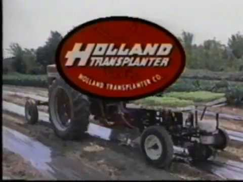 Mulch pot planter   Holland Transplanter