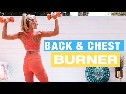 CHEST & BACK BURNER - 10-minute BUST BOOST | Rebecca Louise