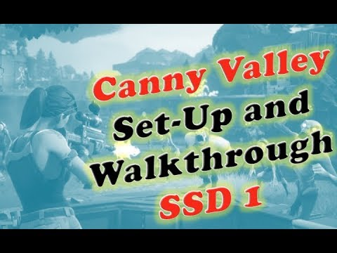 Canny Valley SSD 1 Set Up and Walkthrough