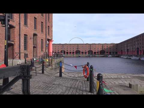 Liverpool Royal Albert Docks, Virtual Tour | England, UK 🇬🇧