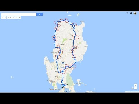 My North Loop Ride in 3 mins  1700KM  (Ultimate solo ride) Yamaha Sniper MX 150