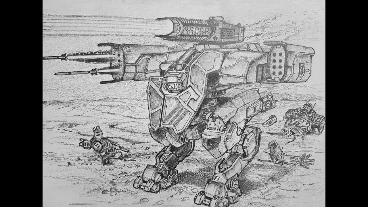 How To Draw A Lancelot From War Robots Youtube