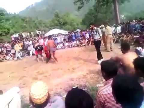 DANGAL   FEMALE VS MALE WRESTLING