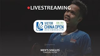 Live Streaming (Score Only) Anthony Sinisuka Ginting vs Chou Tien Chen