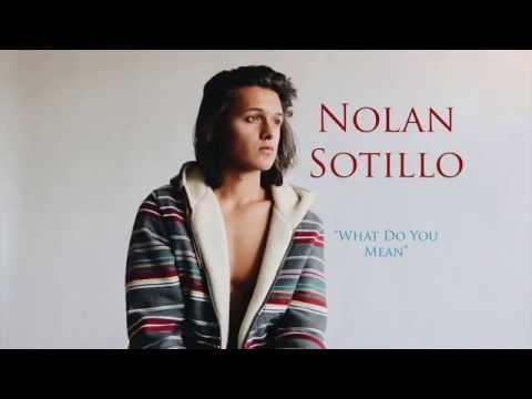 What Do You Mean  Justin Bieber  Nolan Sotillo Cover