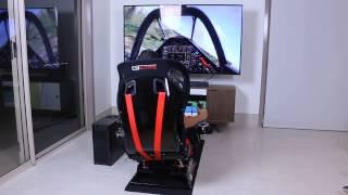 MOTION Flight Simulator Cockpit - Next Level Flight Simulator with Motion Platform running DCS World